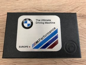 PLAKETA - BMW ULTIMATE M PERFORMANCE