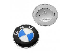 ZNAK BMW 78MM MODRO-BÍLÁ