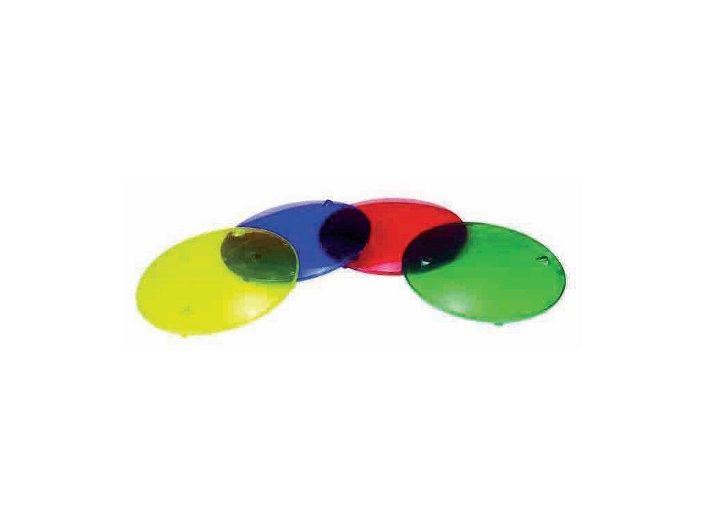 Barevné clony pro světlo H100 4