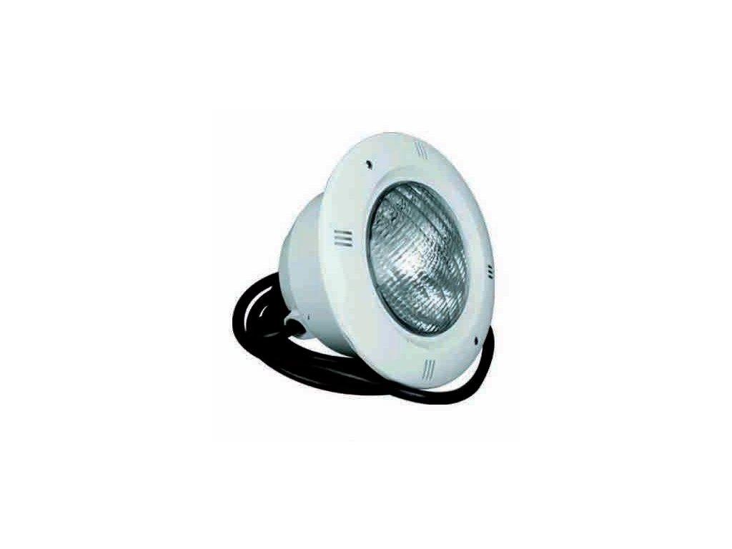 Bazénové LED světlo LED 252 – bílé –betonový bazén 7a