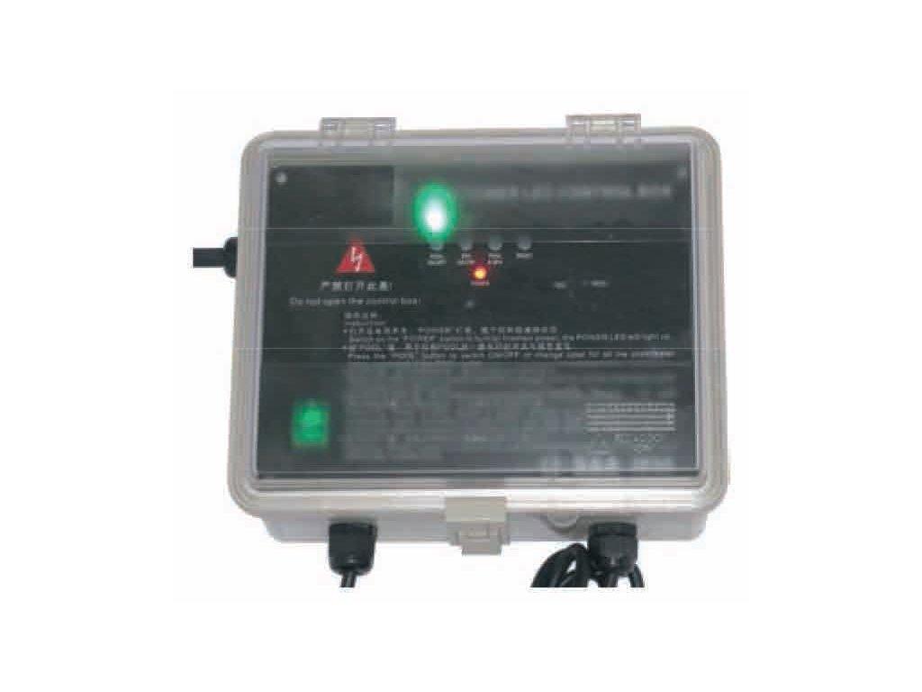 Kontrolní skříň s dálkovým ovládáním 2a