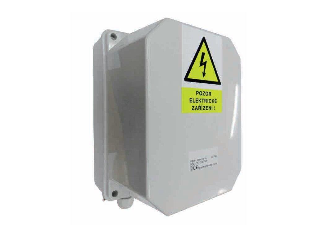 Transformátor bezpečností 50 VA 230–12 V–25 A–IP65 3
