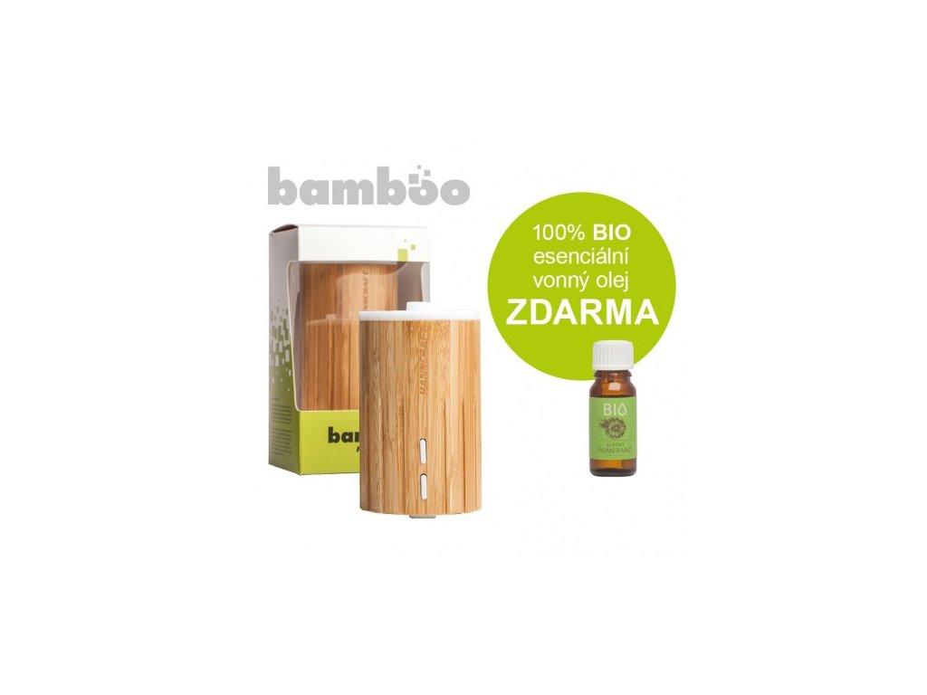 Ultrasonický aroma difuzér Hanscraft BAMBOO
