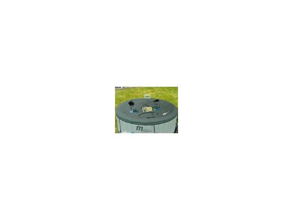 Saunovací kryt MSpa - kulatý 4 os (3 otvory)