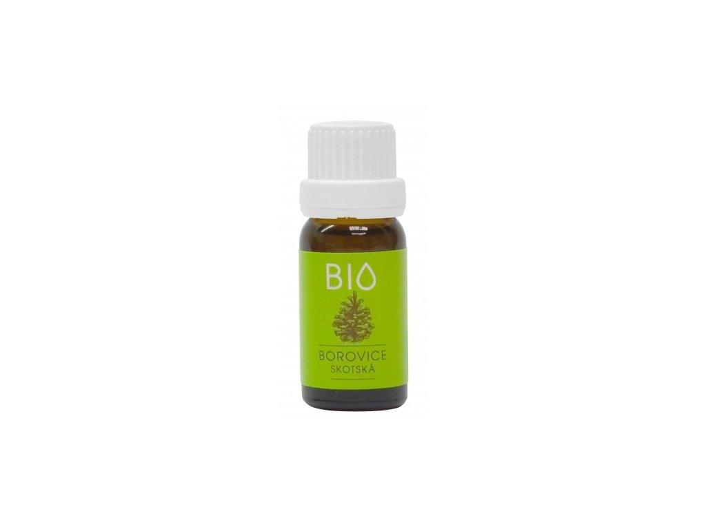 100% BIO Esenciální vonný olej Borovice skotská