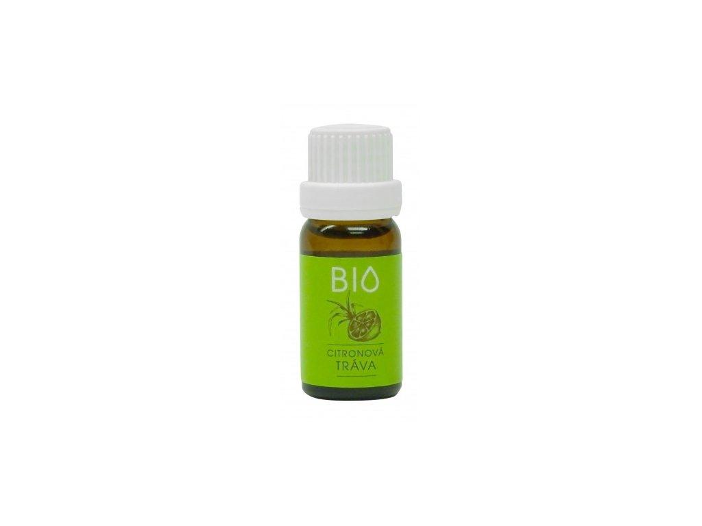 100% BIO Esenciální vonný olej Citronová tráva