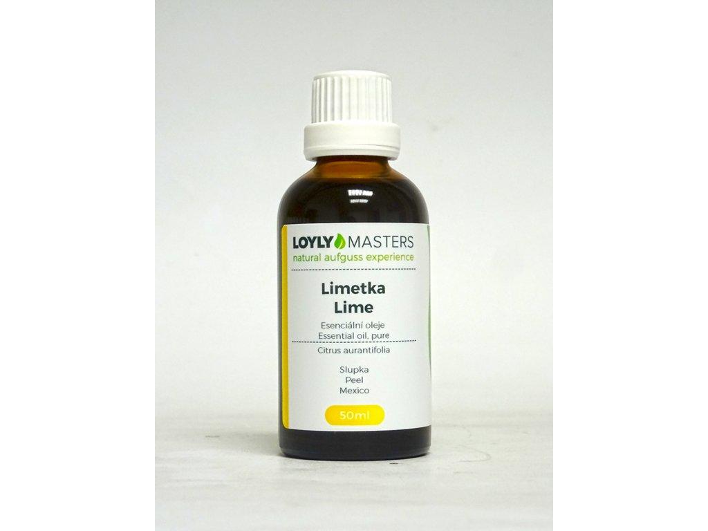 100% EO LOYLY MASTERS Limetka (50ml)