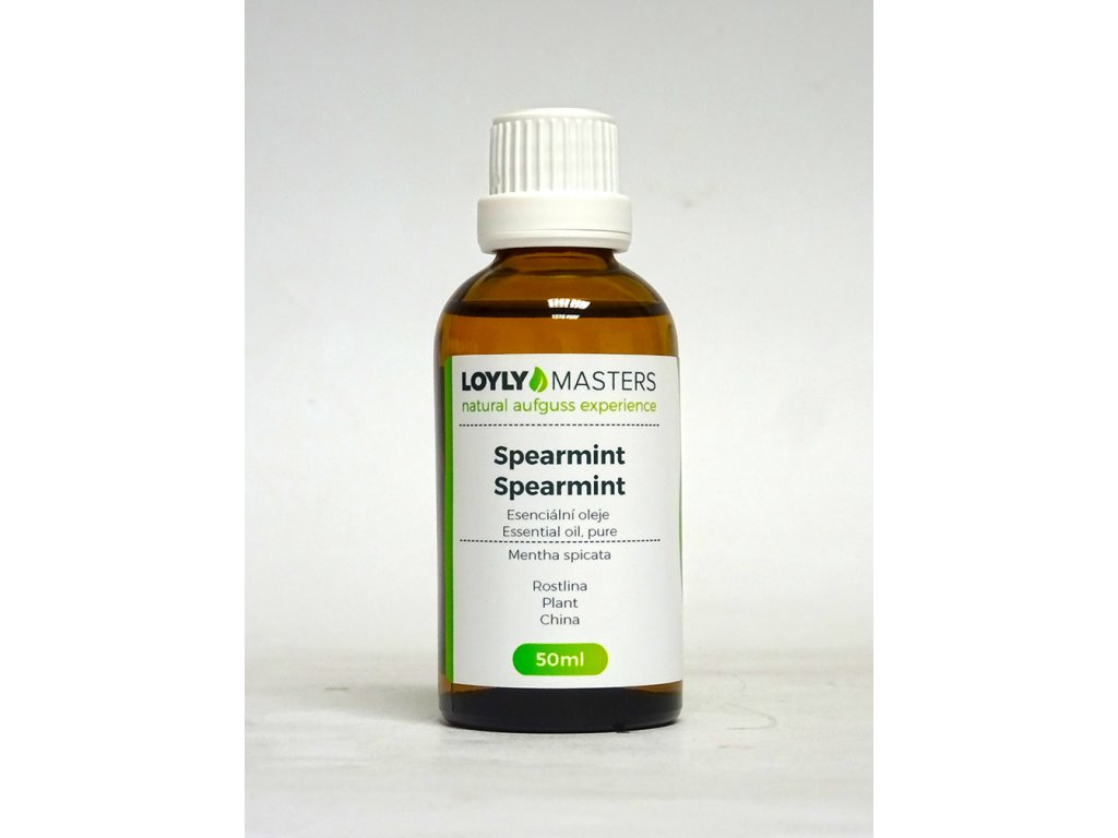 100% EO LOYLY MASTERS Spearmint (50ml)