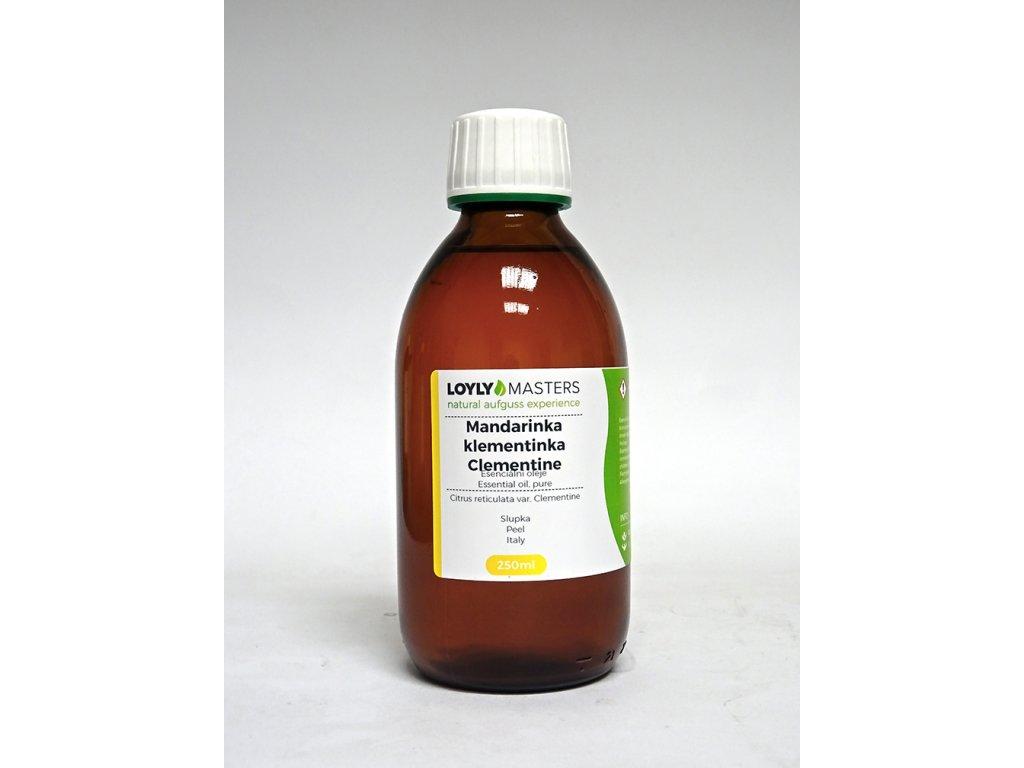 100% EO LOYLY MASTERS Mandarinka klementin.(250ml)