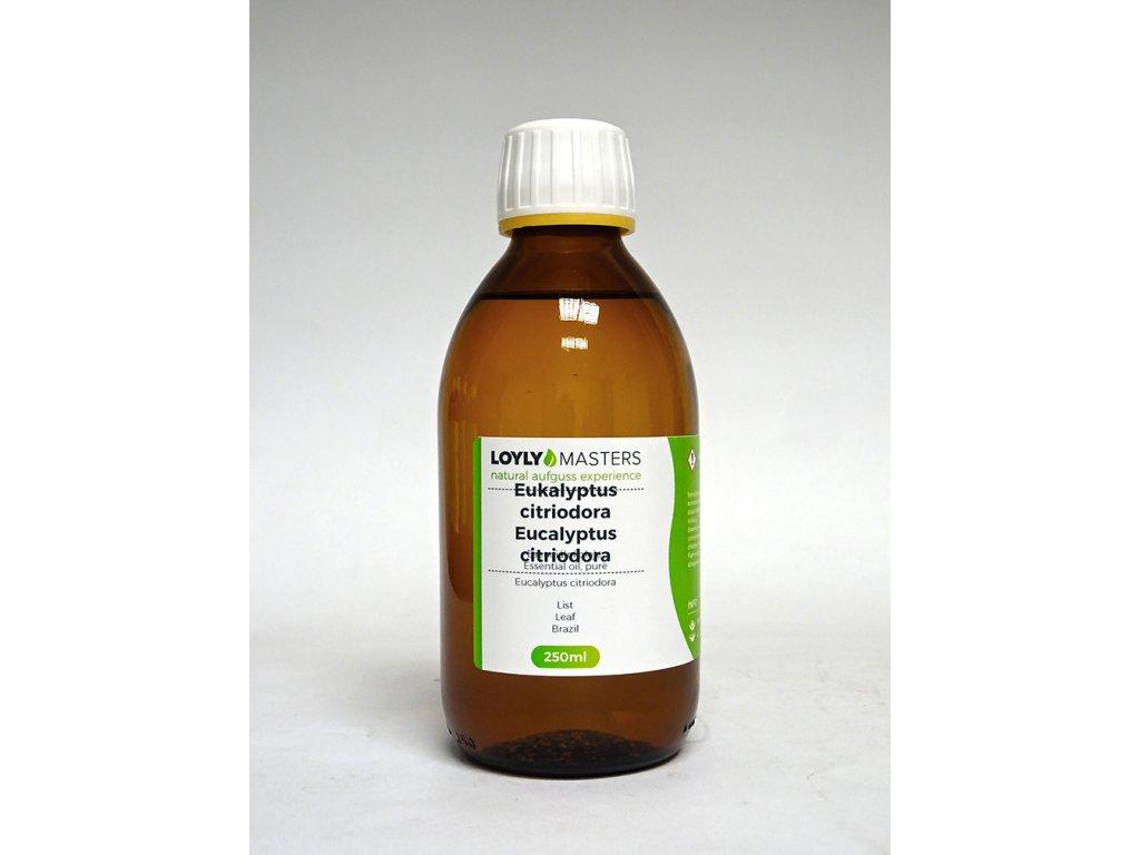 100% EO LOYLY MASTERS Eukalyptus citriodora(250ml)