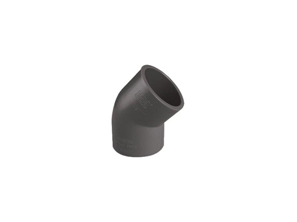 Koleno 45° lep/lep - průměr 50 mm
