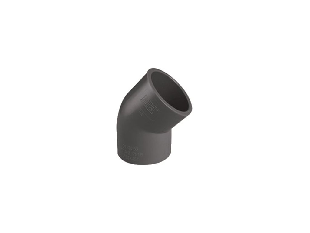 Koleno 45° lep/lep - průměr 110 mm