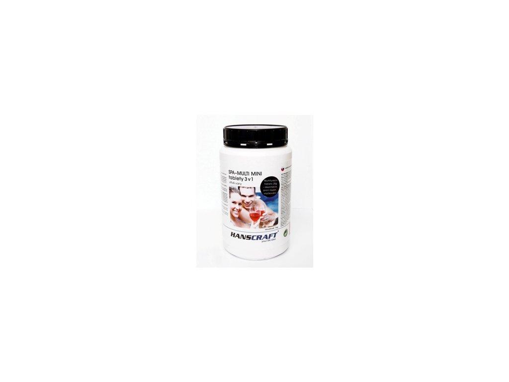 MULTI MINI tablety 3v1 - 1 kg HANSCRAFT SPA chlór, algicidy, flokulace