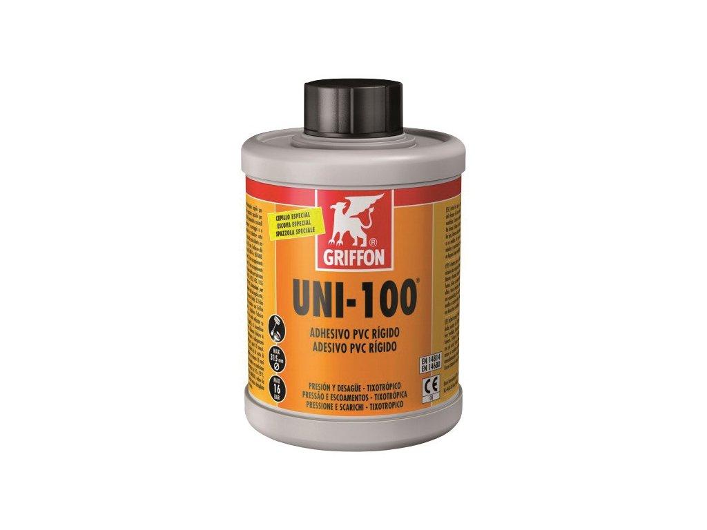 Lepidlo PVC GRIFFON UNI-100 se štětcem - 250 ml