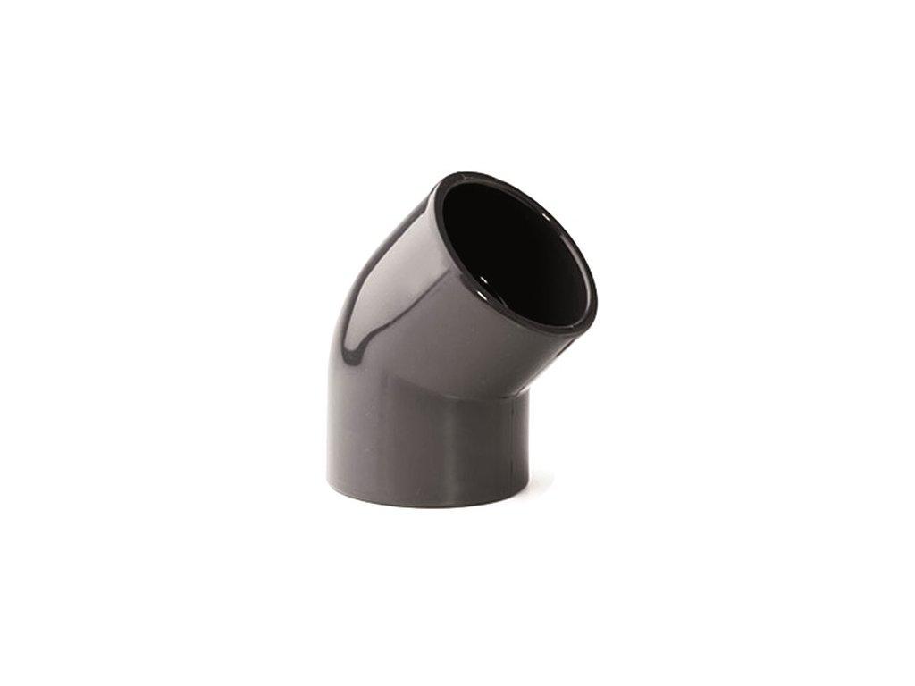 Koleno 45° lep/lep - průměr 63 mm - PT