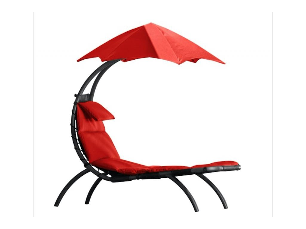 Vivere - Original Dream Lounger # Cherry Red