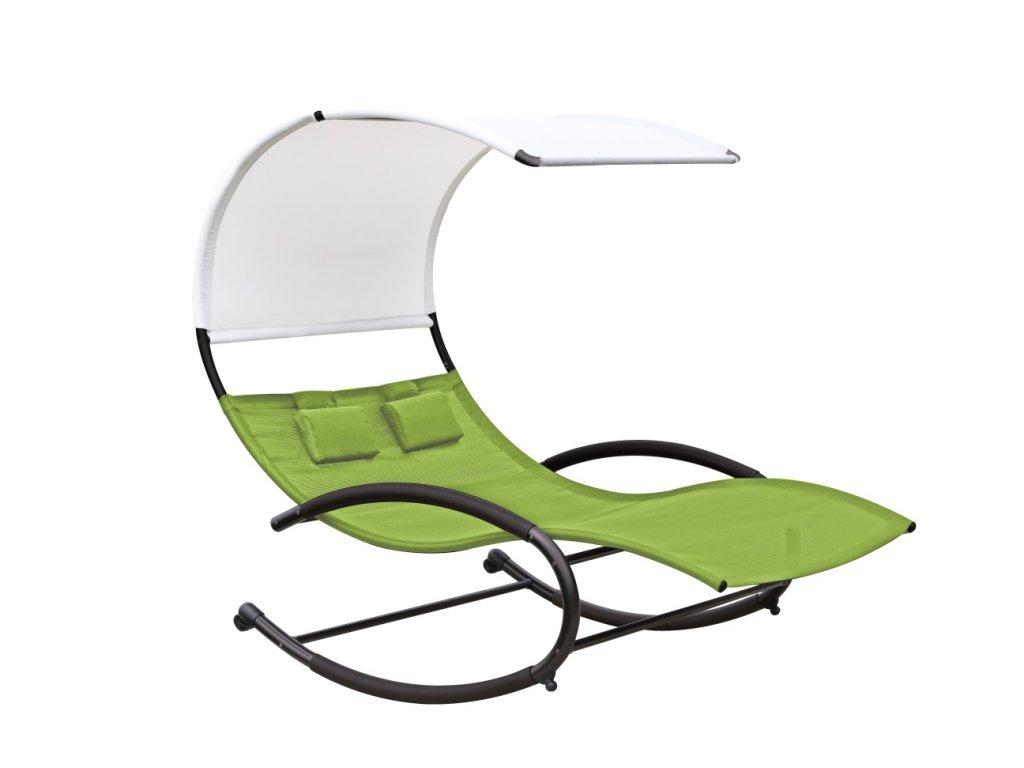 double chaise rocker zelené jablko (1)