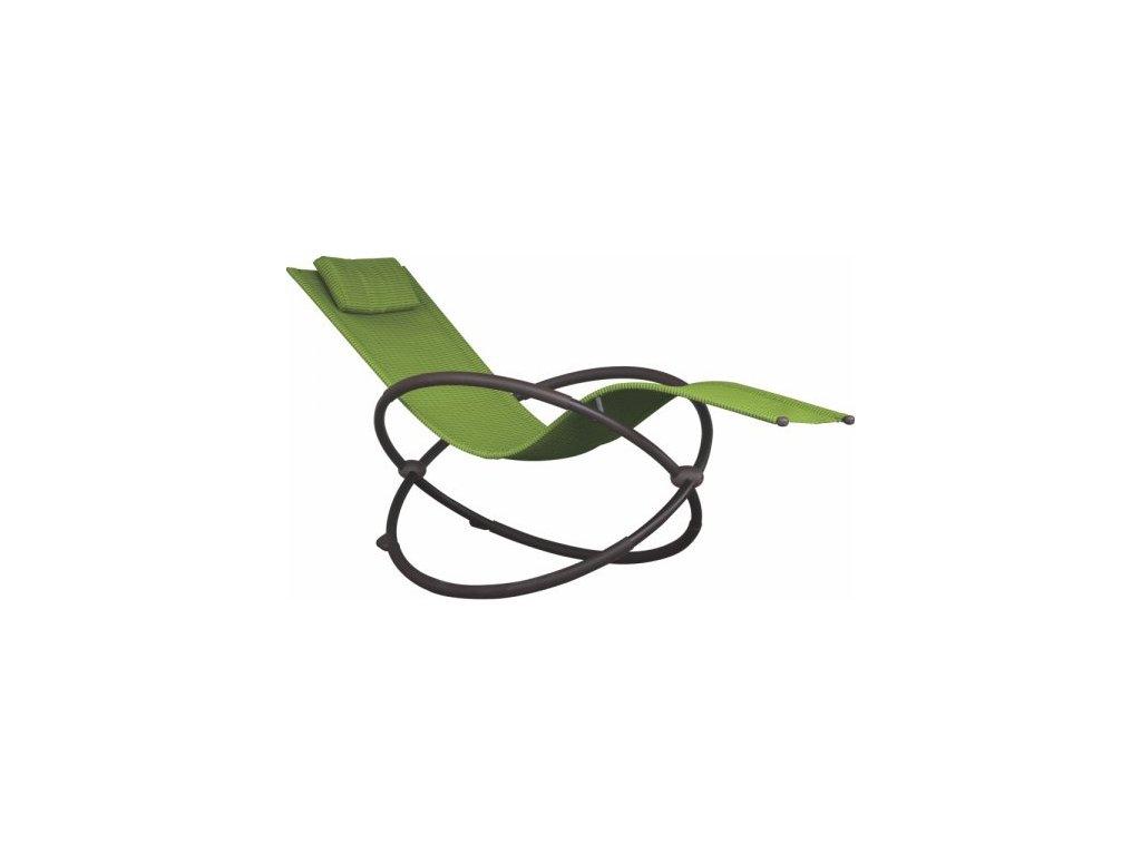 Vivere - Orbital Lounger Single # Green Apple