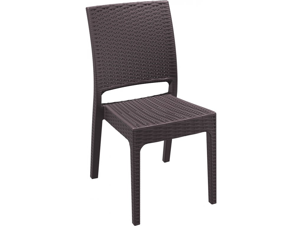 hanscraft židle florida siesta exclusive zahradní nábytek hnědá (4)