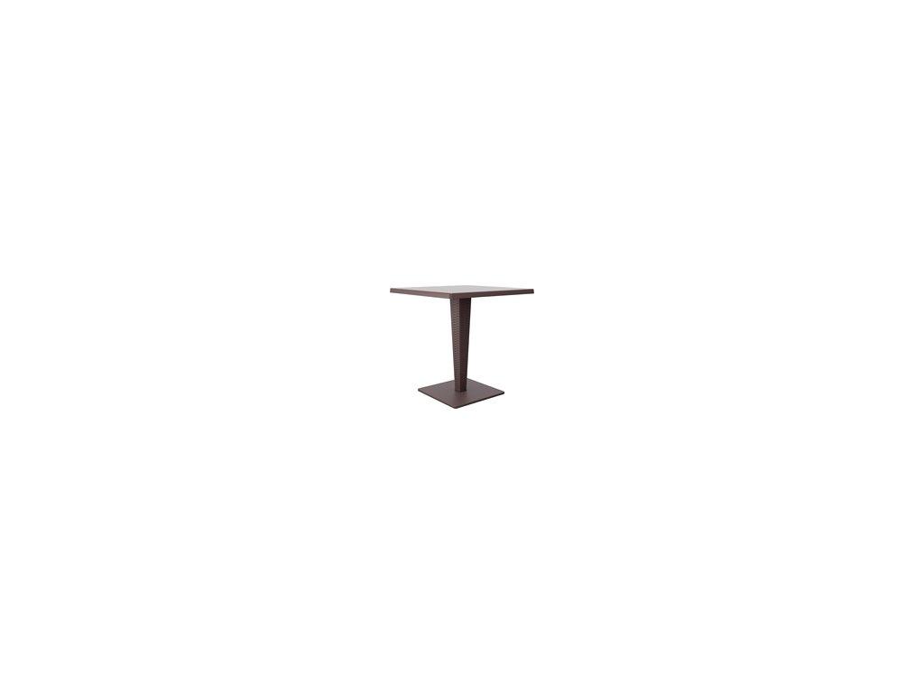 SIESTA EXCLUSIVE; Stůl RIVA hnědý