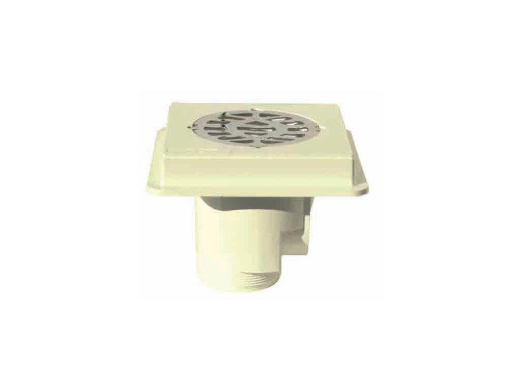 Podlahová výpusť ABS, nerez SS316, beton – MTS 1