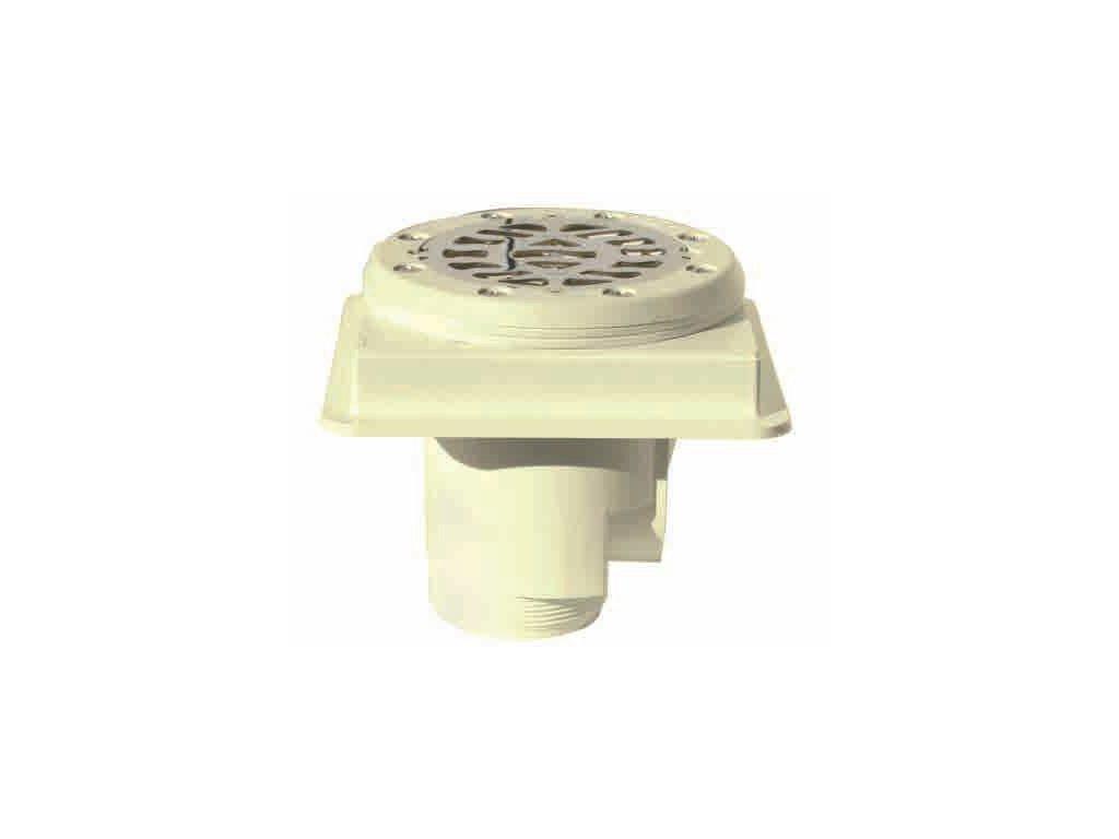 Podlahová výpusť ABS, nerez SS316, folie –MTS 3