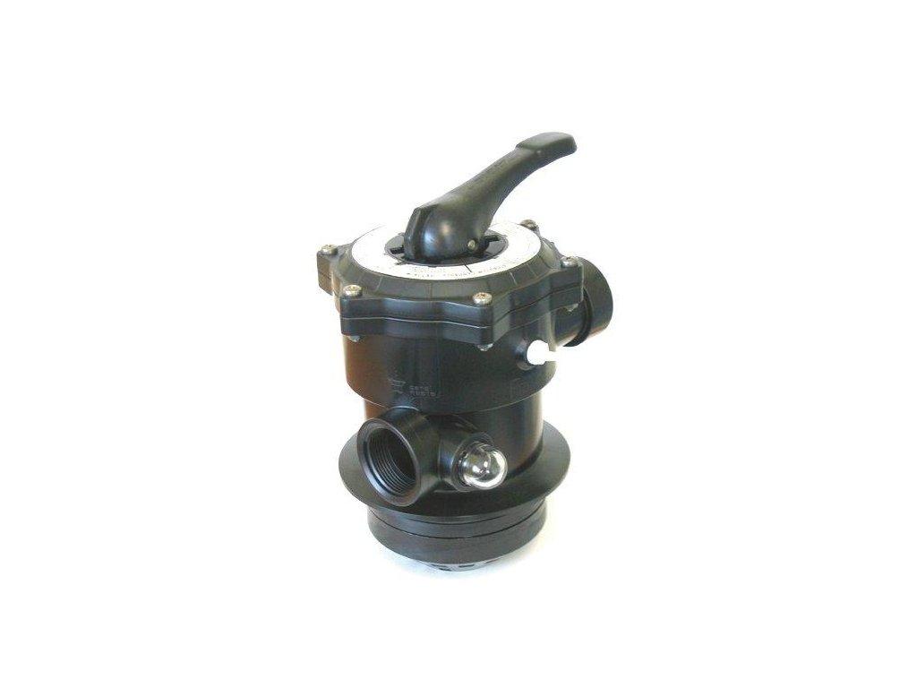 Ventil TOP – 6-ti cestný ventil, na přírubu filtr. nádoby AZUR