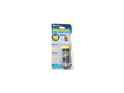 AquaChek testovací proužky - 3v1 peroxid, ph, alkalita