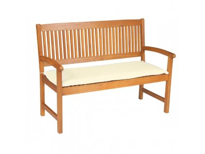 Sedák na lavici 3 sedadla 150x45cm přírodní