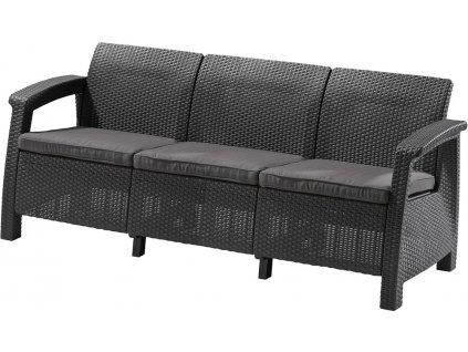 Sofa CORFU LOVE SEAT MAX - grafit