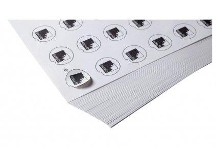 Nálepky pod průhledné víčko Easyfit d= 63 mm, 40 kusů