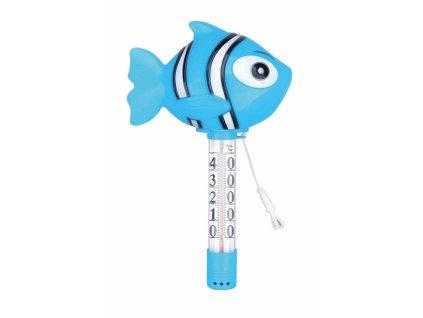 Teploměr plovoucí se zvířátky -- Nemo modrý