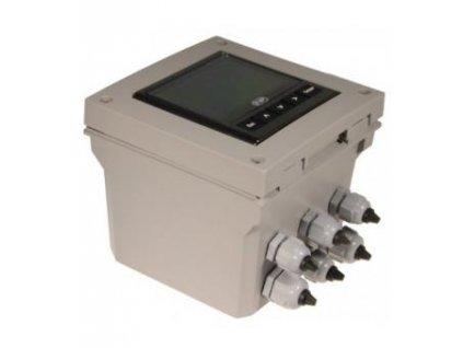 Monitor průtoku M9.03 - 2 senzory - instalace na zeď