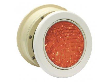 Podvodní světlomet MTS LED RGB - 16W, bílý ABS plast