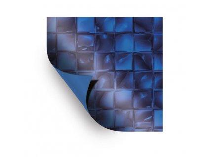 AVfol Decor - Mozaika Modrá Electric; 1,65m šíře, 1,5mm, 25m role