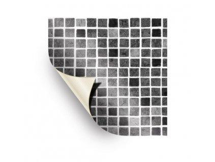 AVfol Decor - Mozaika Šedá; 1,65m šíře, 1,5mm, 25m role