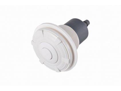 Pneumatické tlačítko, včetně průchodu betonem; pro fólii