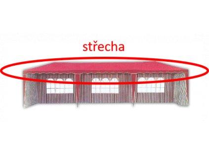Střecha k altánu 3901-PL - červená