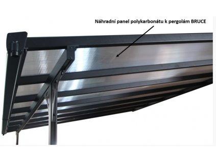 Panel polykarbonátu k pergolám BRUCE - 3010mm