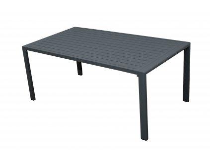 Zahradní hliníkový stůl MORISS 130 x 70 x 55 cm