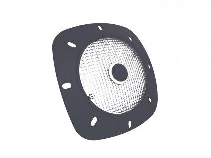 SeaMAID -- šedý rámeček, 18 LED bílé, 2 W, 200 lm