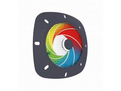 SeaMAID -- šedý rámeček, 18 LED RGB, 4 W, 100 lm