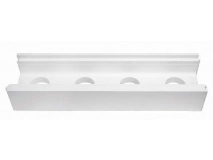 Tvárnice polystyrenová -- žlabová, průběžná; 1 009,5 x 270 x 170