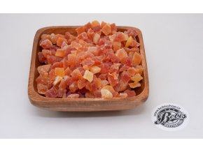 papaya kostky s cukrem