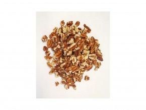 pekanové ořechy, zlomky 4-10 mm