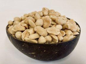 arašídy, loupané, pražené, solené