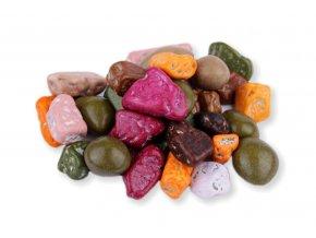 cokoladove kaminky v barevne kruste