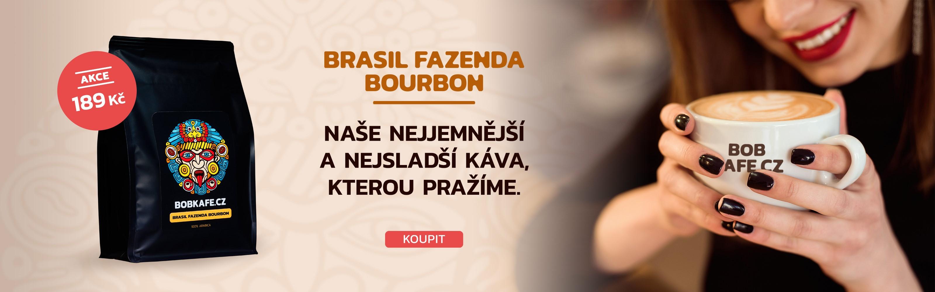 Carousel Čerstvá Káva Brazil Fazenda Bourbon