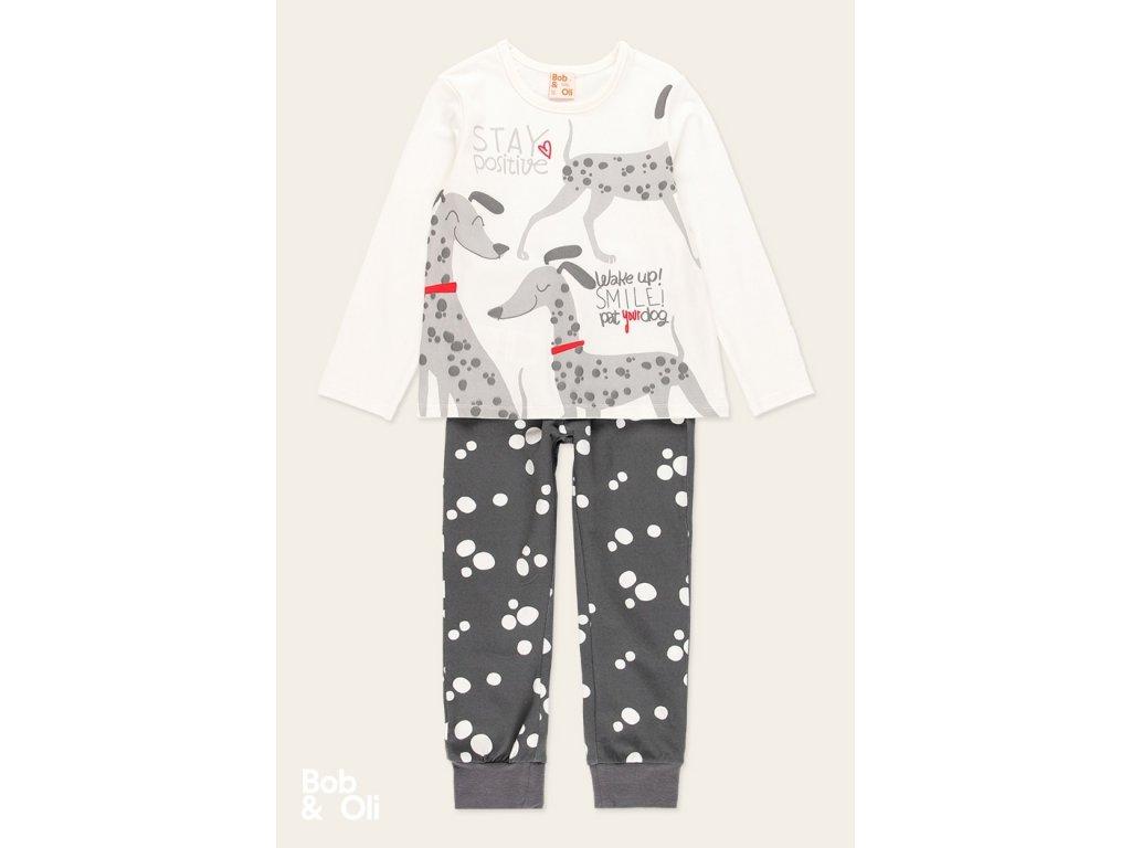 pyjamas polka dot for girl organic