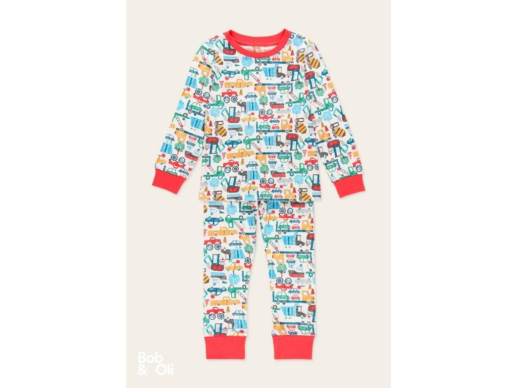 knit pyjamas for boy organic
